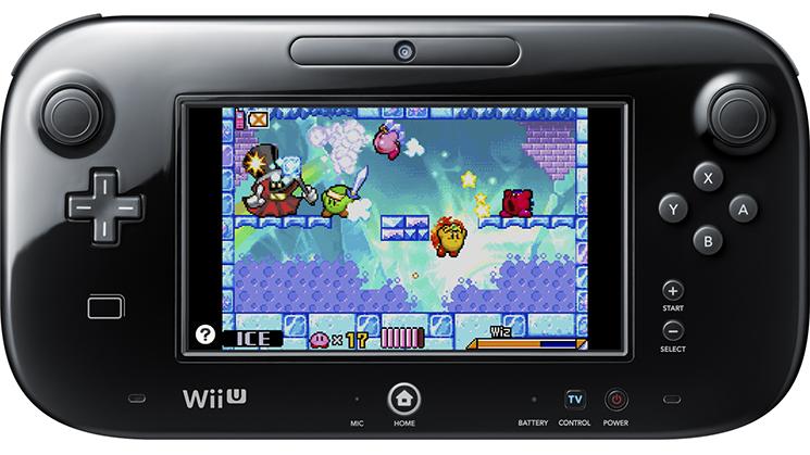 I giochi gameboy advance arrivano su virtual console left 4 nerd - Kirby e il labirinto degli specchi ...